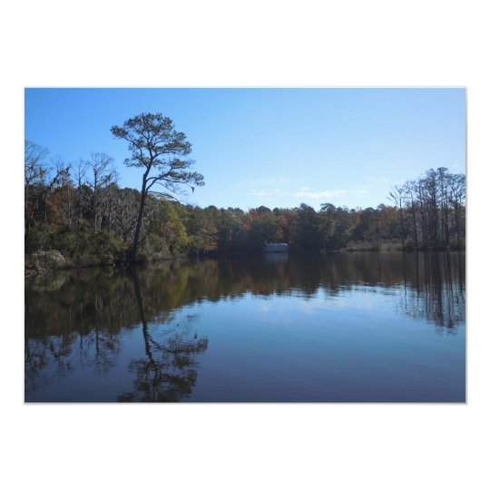 Sky and Water Reflections - Beaufort County NC Card