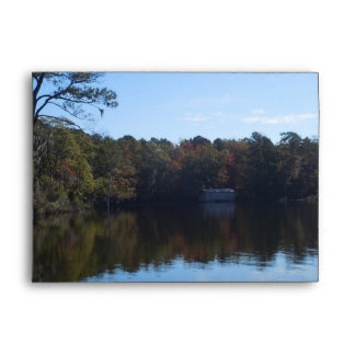 Sky and Water Reflections - Beaufort County NC Envelope