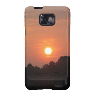 Sky At Sunset Samsung Galaxy SII Cases