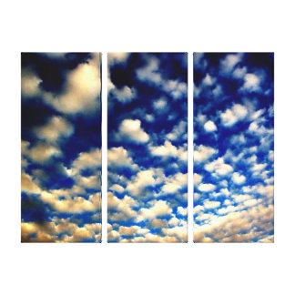 Sky,Background Canvas Stretched Canvas Print