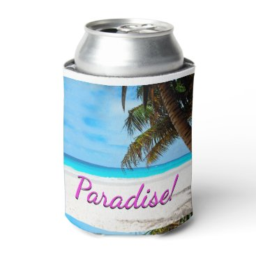 gypsypoetproducts Sky, beach, palm trees - Paradise! Can Cooler