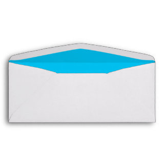 Sky Blue #10 Envelope