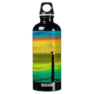 Sky Blue Aluminum Water Bottle