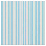 [ Thumbnail: Sky Blue and Light Cyan Colored Lines Fabric ]