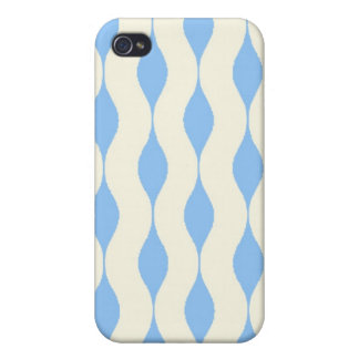 sky blue and white wave  iPhone case iPhone 4/4S Covers