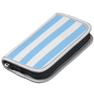 Sky Blue and White XL Stripes Pattern Organizer