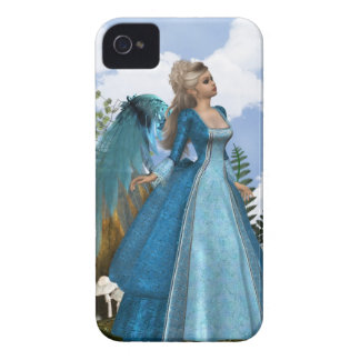 Sky Blue Angel iPhone 4 Cover