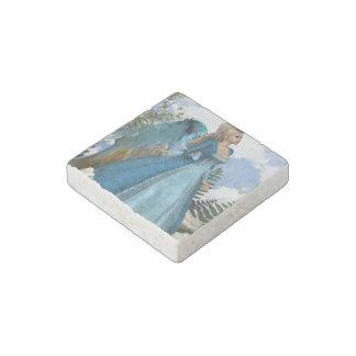 Sky Blue Angel Stone Magnet