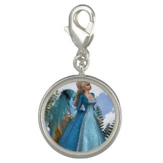 Sky Blue Angel Charm Bracelets