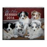 Sky Blue Aussies 2016 Puppy Calendar
