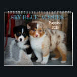 """Sky Blue Aussies 2018 Puppy Calendar<br><div class=""""desc"""">Our 2018 calendar featuring a few of our puppies from the last year!</div>"""