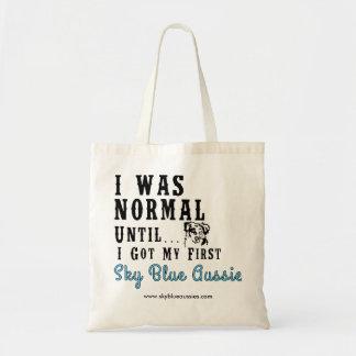 Sky Blue Aussies Tote Bag 2016