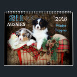 "SKy Blue Aussies WINTER Puppy 2018 Calendar<br><div class=""desc"">Featuring our 10 awesome winter puppies - Rogan,  Riley,  Izzy,  Drift,  Turner,  Taylor,  Gunner,  Springer,  Sherlock &amp; Kershaw!</div>"