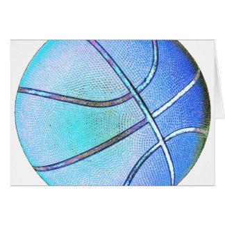 Sky Blue Ball Card