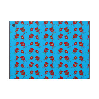 sky blue barbeque pattern covers for iPad mini
