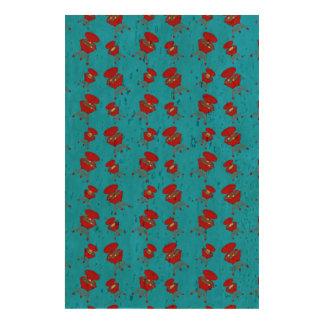 Sky blue barbeque pattern cork paper