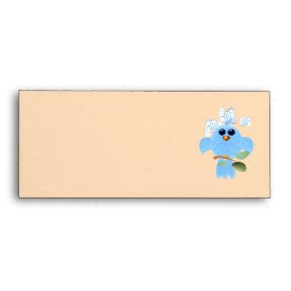 Sky Blue Bird Envelope