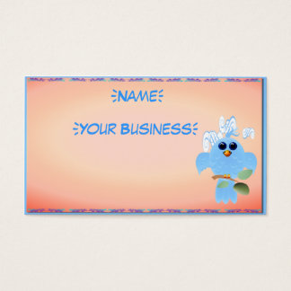 Sky Blue Bird profilecard_business_horizontal, ... Business Card