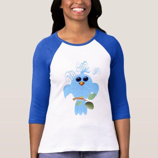 Sky Blue Bird Shirts
