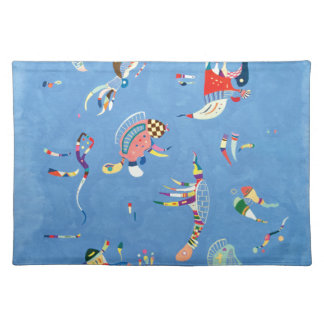 Sky Blue by Wassily Kandinsky Placemat