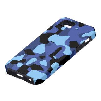 Sky Blue Camouflage iPhone SE/5/5s Case