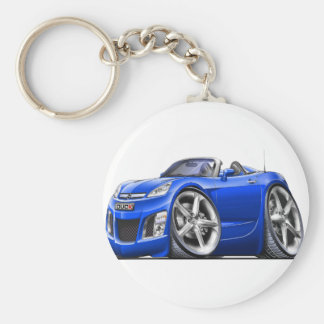 Sky Blue Car Keychains