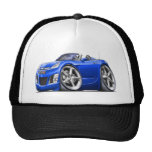 Sky Blue Car Mesh Hat