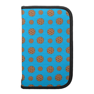 Sky blue chocolate chip cookies pattern planner