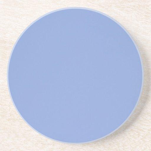 Sky Blue Color Sandstone Beverage Coaster