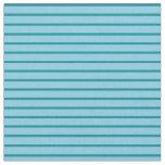 [ Thumbnail: Sky Blue & Dark Cyan Colored Pattern Fabric ]