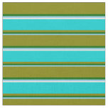 [ Thumbnail: Sky Blue, Dark Green, Green, Dark Turquoise, White Fabric ]