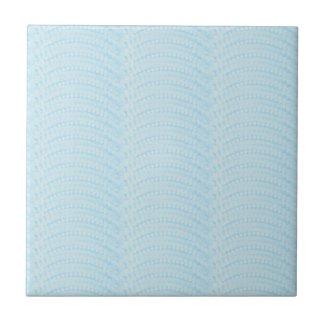 Sky Blue Fans Tile