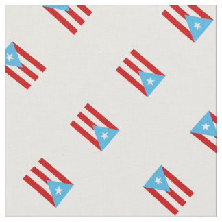 Sky Blue: Flag of Puerto Rico Fabric