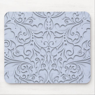 Sky Blue HeartyChic Mouse Pad