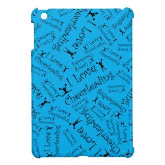 Sky blue I love cheerleading Case For The iPad Mini