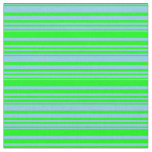 [ Thumbnail: Sky Blue & Lime Colored Pattern Fabric ]