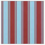 [ Thumbnail: Sky Blue & Maroon Pattern Fabric ]