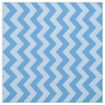 Sky Blue Moroccan Moods Chevrons Fabric
