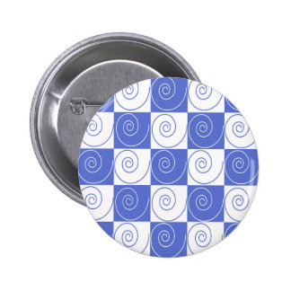 Sky Blue Mouse Tail Twists Pinback Button