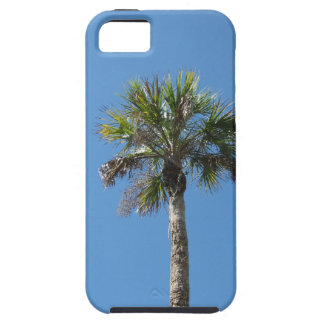 Sky blue palm tree iPhone 5 cover