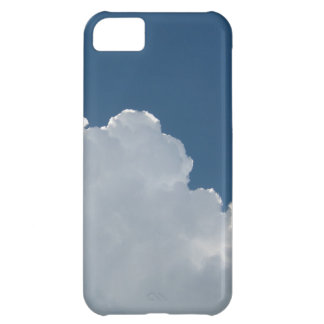 Sky Blue - Partly Cloudy iPhone 5C Cover