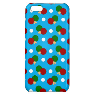 Sky blue ping pong pattern iPhone 5C case