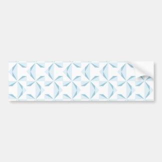 Sky Blue Pinwheels Bumper Sticker
