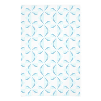 Sky Blue Pinwheels Stationery