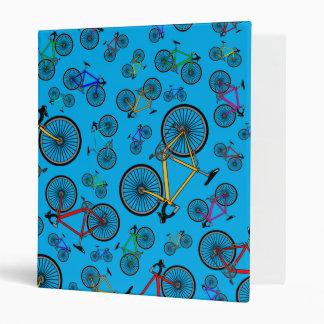 Sky blue road bikes binder