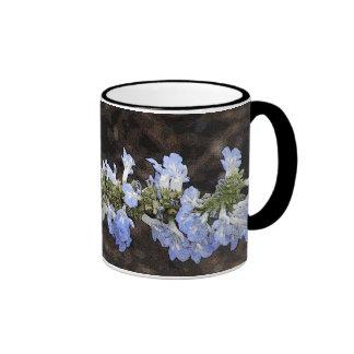 Sky Blue Sage Ringer Mug