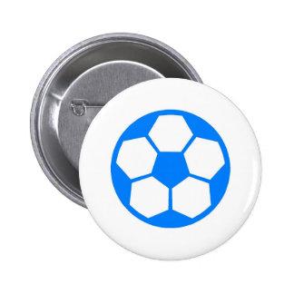 "Sky Blue ""SOCCER BALL"" image Buttons"