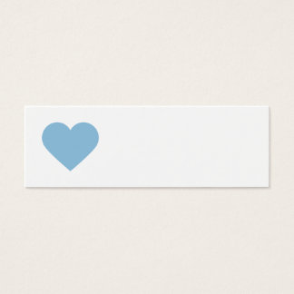 Sky Blue Sweet Heart and Chevron Gift Tags
