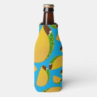 Sky blue tacos bottle cooler