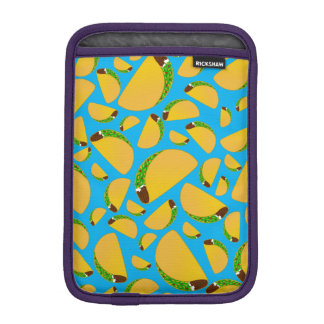 Sky blue tacos sleeve for iPad mini